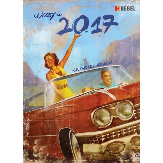 REBEL Rebelowy Kalendarz Gracza 2017