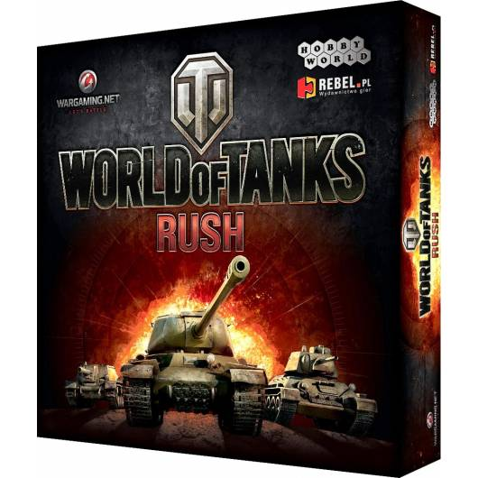 REBEL Gra World of Tanks: Rush (PL)