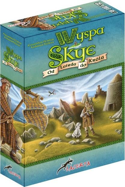 Lacerta Gra Wyspa Skye