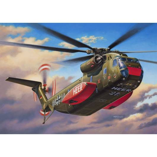 REVELL 1:144 Helikopter Sikorsky CH-53 G (04858)