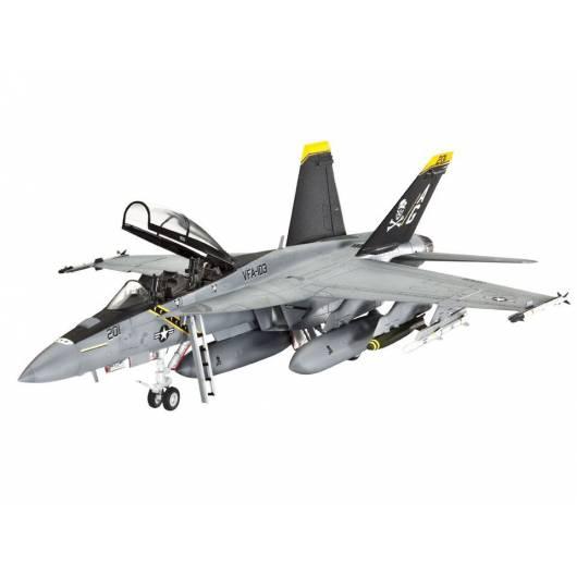 REVELL 1:72 F/A-18 F Super Hornet (04864)
