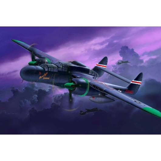 REVELL 1:48 Northrop P-61 Black Widow (04887)