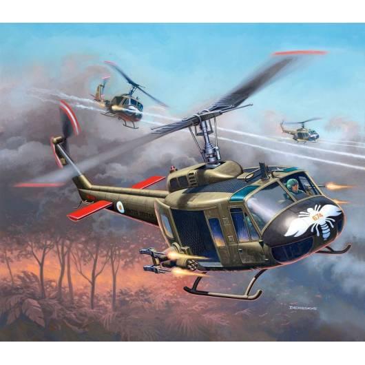 REVELL 1:100 Bell UH-1H Gunship (04983)