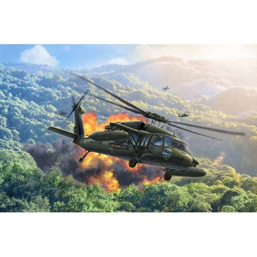 REVELL 1:100 UH-60A (04984)