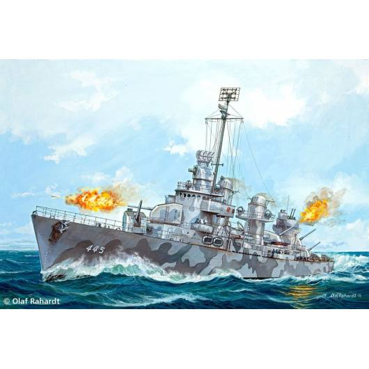 REVELL 1:700 US Navy Fletcher Class Destroyer (05127)