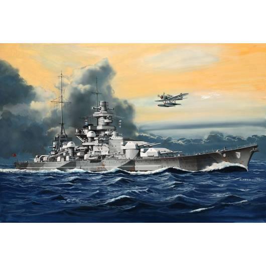REVELL 1:1200 Battleship Scharnhorst (05136)