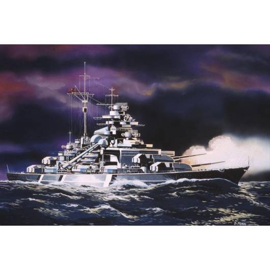 REVELL 1:1200 Bismarck (05802)