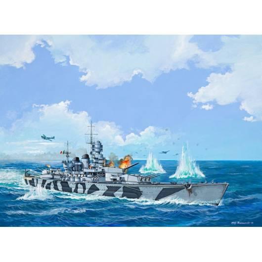 REVELL 1:1200 Battleship ROMA (05821)