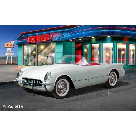 REVELL 1:24 Chevrolet Corvette Roadster '53 (07067)