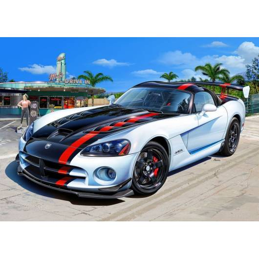 REVELL1:25 Dodge Viper STR 10 (07079)
