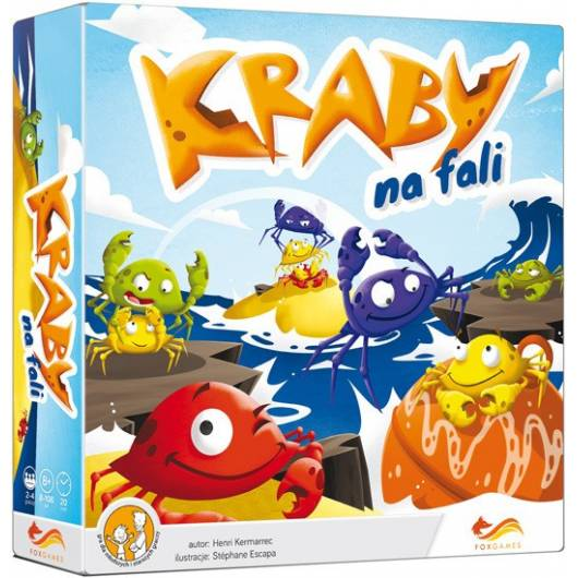 FoxGames Gra Kraby na fali