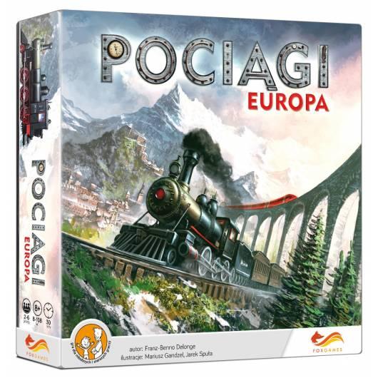 FoxGames Gra Pociągi. Europa