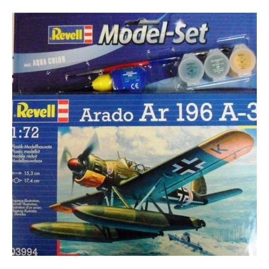 REELL 1:72 Arado-196 A-3 Seaplane (63994)