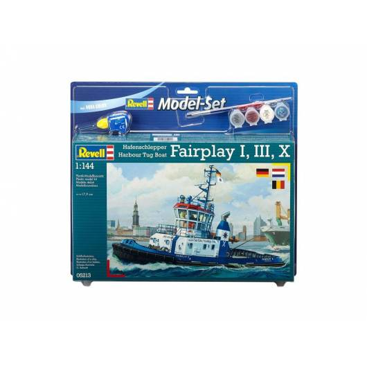 REVELL 1:144 Harbour Tug Boat Fairplay (65213)