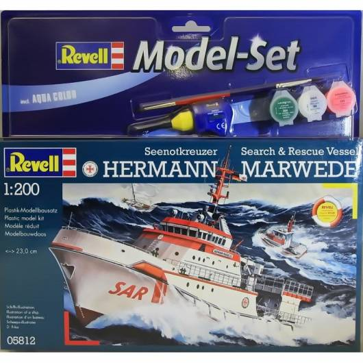 REVELL 1:200 DGZRS Hermann Marwede (65812)