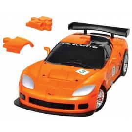 Puzzle samochód 3D CARS - Corvette C6R - poziom 3/4