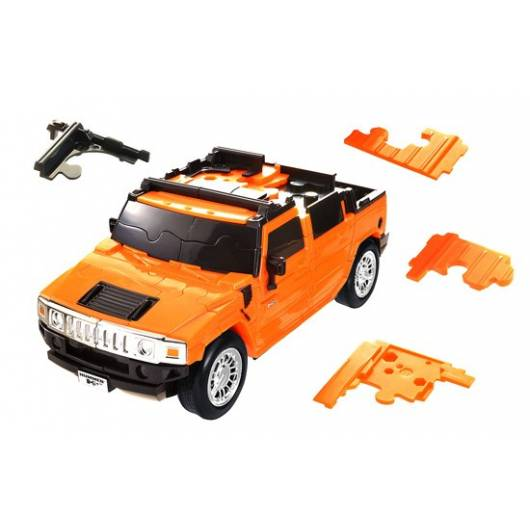 Puzzle amochód 3D CARS - Hummer H2 - poziom 3/4
