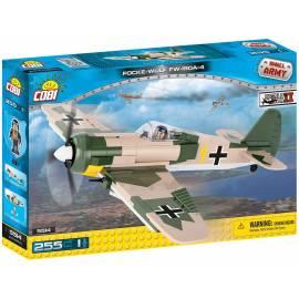 COBI Focke-Wulf Fw 190 A-4 - myśliwiec niemiecki 255 el. (5514)