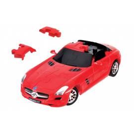 Puzzle samochód 3D CARS - Mercedes SLS AMG GT - poziom 3/4