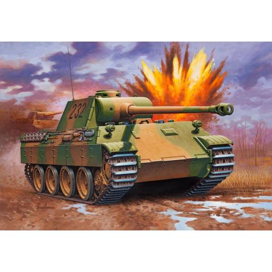 REVELL 1:72 Panzer V Panther Ausf D/ Ausf A (03107)