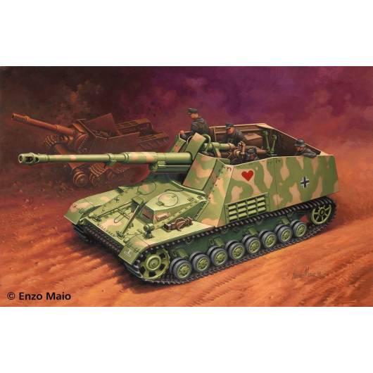 REVELL 1:72 SD.KFZ.164 Nashorn - niemiecki niszczyciel czołgów (03148)