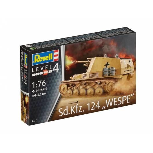 REVELL 1:72 Sd.Kfz. 124 Wespe - niemieckie samobieżne działo polowe (03215)