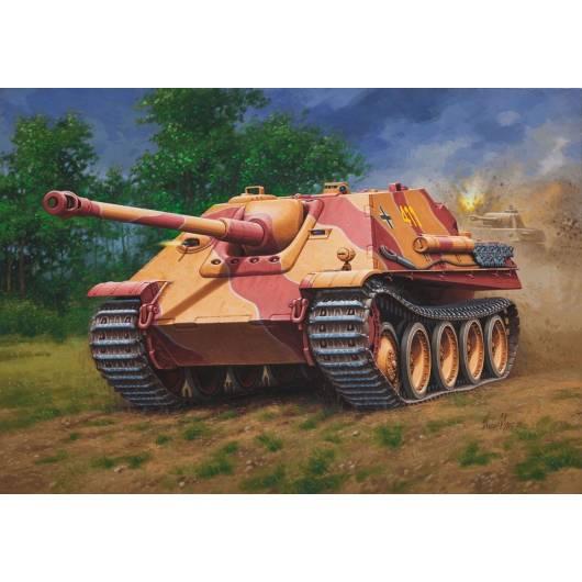 REVELL 1:76 Sd.Kfz. 173 JAGDPANTHER - niemiecki ciężki niszczyciel czołgów (03180)