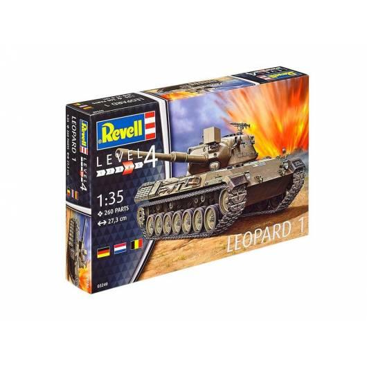 REVELL 1:35 Leopard 1 - niemiecki czołg podstawowy (03240)