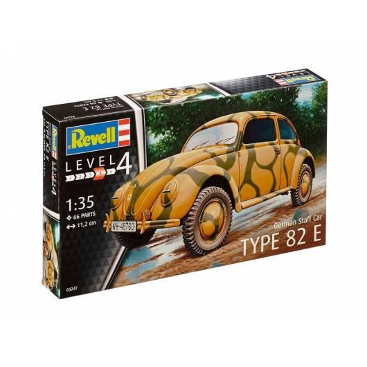 REVELL 1:35 German Staff Car Type 82 E - samochód z okresu II wojny światowej (03247)