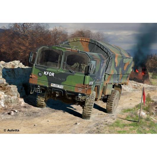 REVELL 1:72 LKW 5T. MIL GL - ciężarówka terenowa MANj (03300)