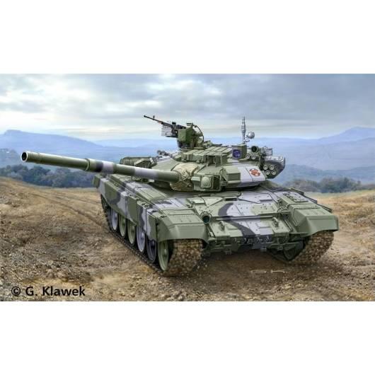 REVELL 1:72 Russian Battle Tank T-90A - rosyjski czołg współczesny drugiej generacji (03301)