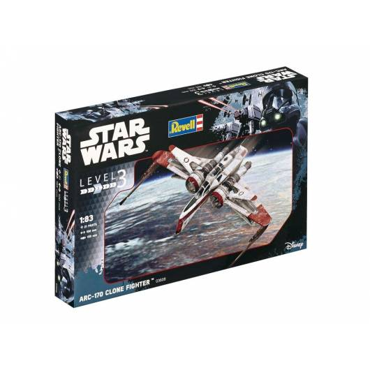 REVELL 1:58 ARC-170 Fighter - myśliwiec Star Wars (03608)