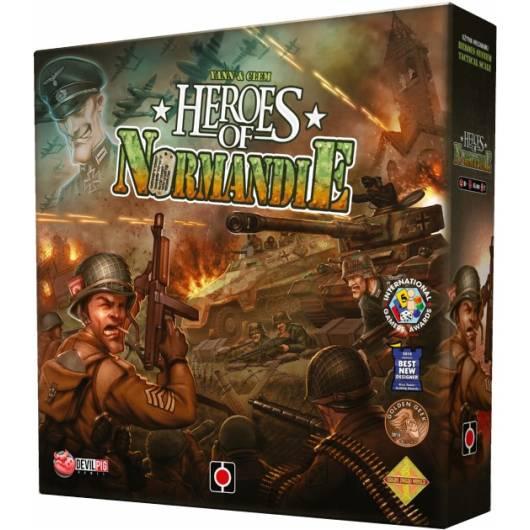 Portal Games Gra Heroes of Normandie (edycja polska)