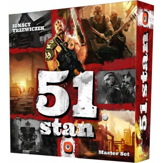 Portal Games Gra 51. Stan: Master Set