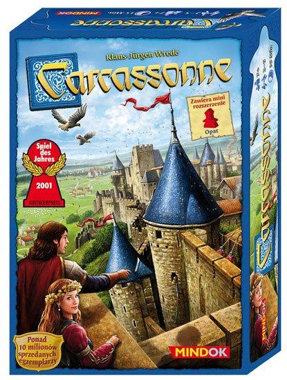 Mindok Gra Carcassonne (druga edycja polska)