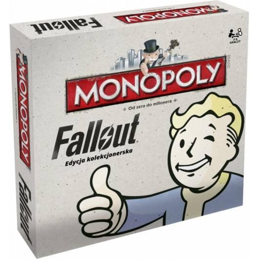 Gra Monopoly Fallout (polska edycja kolekcjonerska)