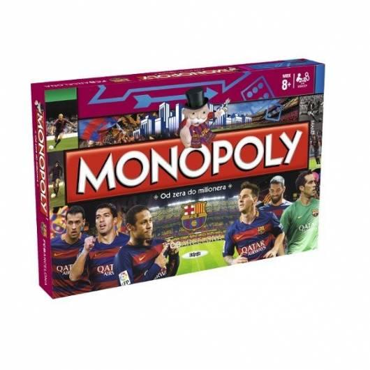 Gra Monopoly FC Barcelona (edycja polska)