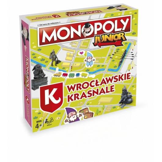 Gra Monopoly Junior: Wrocławskie Krasnale