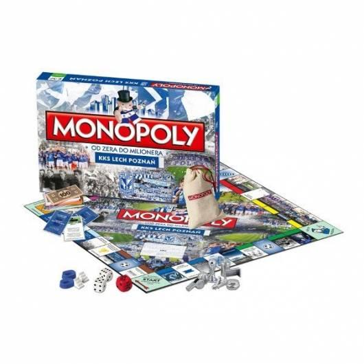 Gra Monopoly KKS Lech Poznań (edycja polska)