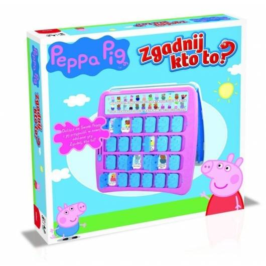 Gra Zgadnij kto to? Peppa Pig - Świnka Peppa (edycja polska)