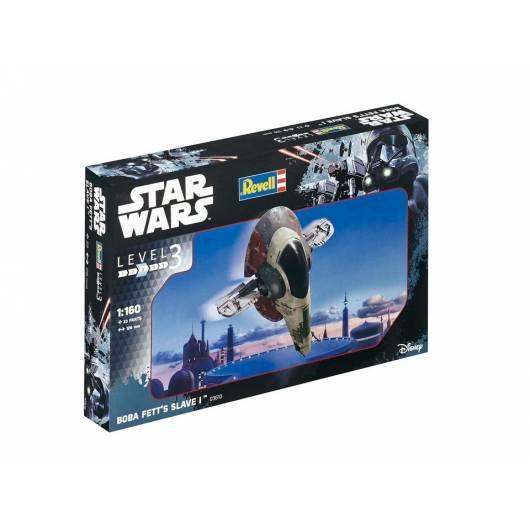 REVELL 1:160 Boba Fett's Slave I - statek kosmiczny Star Wars (03610)