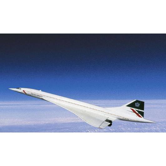 REVELL 1:144 Concorde – ponaddźwiękowy samolot pasażerski (04257)