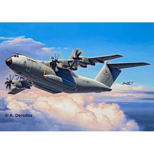 REVELL 1:144 Airbus A-400 Atlas - ciężki wojskowy samolot transportowy (04859)