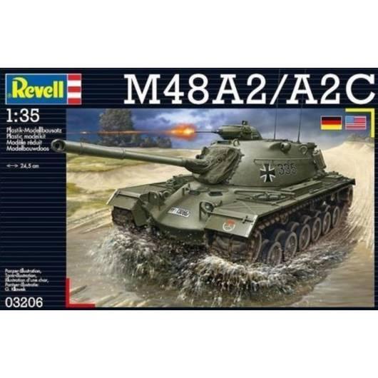 REVELL 1:35 M48 A2/A2C - średni czołg amerykański (03206)