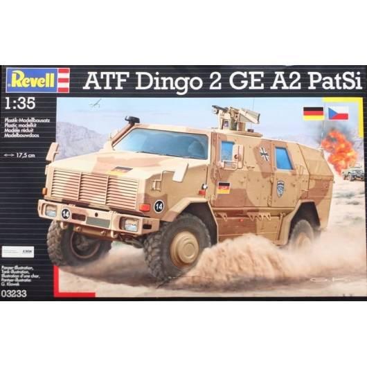 REVELL 1:35 ATF Dingo 2 GE A2 PatSi - niemiecki wojskowy pojazd piechoty (03233)