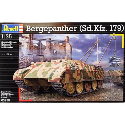REVELL 1:35 Bergepanther Sdkfz 179 - niemiecki czołg ewakuacyjny (03238)