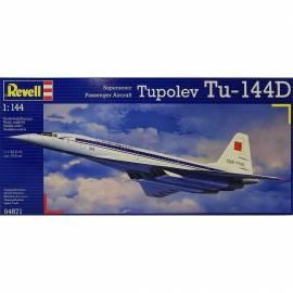 REVELL 1:144 Tupolev Tu 144D - radziecki naddżwiękowy samolot pasażerski (04871)