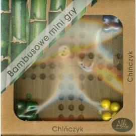 Chińczyk - bambusowa mini gra