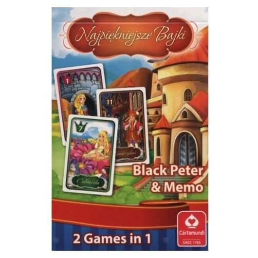 Karty Czarny Piotruś - Najpiękniejsze bajki