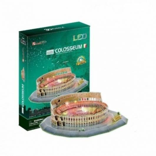 PUZZLE 3D Koloseum (Światło) 185 el.